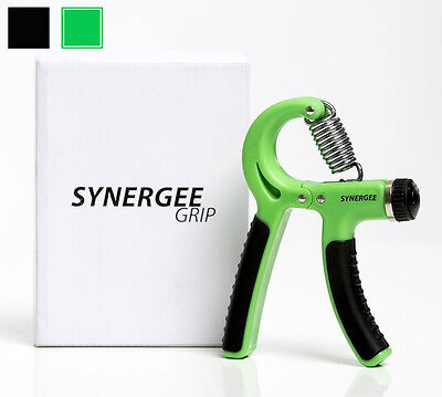 Synergee Hand Gripper Exerciser Grip Strengthener - Adjustable 22 to 88 lbs