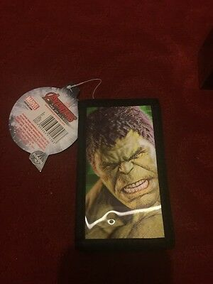 Marvel Avegers Age of Ultron Wallet with 3D Hulk Picture