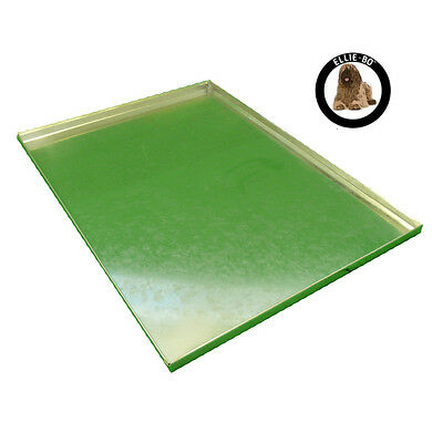 """Silver Metal Non Chew Tray for Large 36"""" Dog Puppy Pet Cage"""