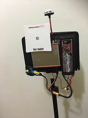 "Custom Fpv Groundstation Immersion Rc Duo5800 Fieldview 888 8"" Quad Fatshark 5.8"