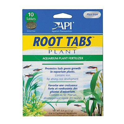 Api Root Tabs 10 Pack Live Aquarium Plants Fish Tank Superb Plant Growth