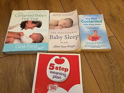 Gina Ford Baby/Pregnancy/Weaning Books