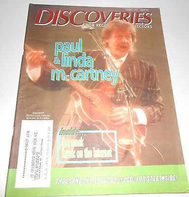 DISCOVERIES Music Mag - #99 -  Aug. '96 - Paul & Linda McCartney