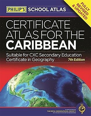 Philip's Certificate Atlas for the Caribbean: 7th Edition, , 1849073554, New Boo