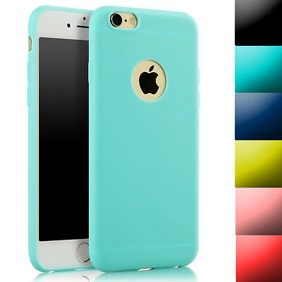 Anti-Scratch Soft Silicone Rubber Thin Protector Case Cover For iPhone 6 6s Plus