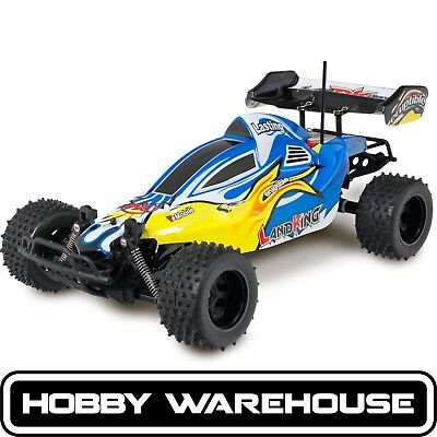 1/10 Blue Off-Road Land King 2WD RC Car