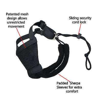 UK Soft Adjustable Pet Sporn Non Pull Padded Dog Harness Vest - Small New