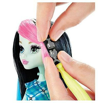 NEW Amazing Voltageous Hair Frankie Stein Doll Customized Design By Monster High