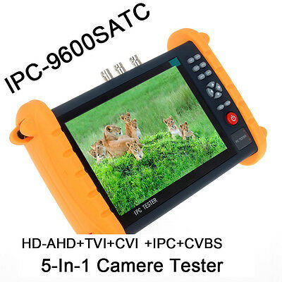 "IPC9600SATC 7"" Touch Screen CVBS IP HD-AHD/TVI/CVI Analog CCTV Camera Tester"