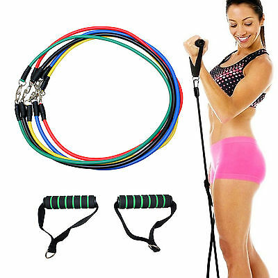 Gallant Resistance Bands Gym Exercise Tubes Stretch Heavy Set For Yoga Workout