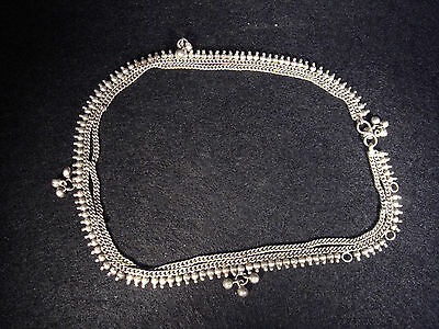 Silver Necklace, Indian Style, Burma