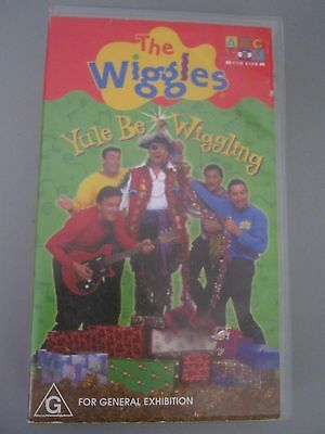 The Wiggles - Yule Be Wiggling VHS Video - 2001 - ABC For Kids