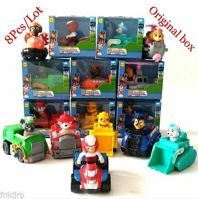 LOTE 8 COCHES PATRULLA CANINA VEHICULOS RESCATE Ryder Everest Chase Skye etc pp1