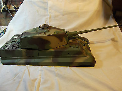 Heng Long King Tiger  1/16 scale tank up hull complete with RX18 cable
