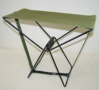 Old DDR Angler Seat seat Folding seat Folding chair foldable