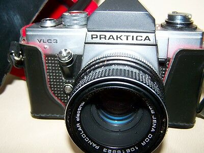 old Praktika Camera VLC 3 with Carl Zeiss Jena Lens 1,8/50, Hobbyists