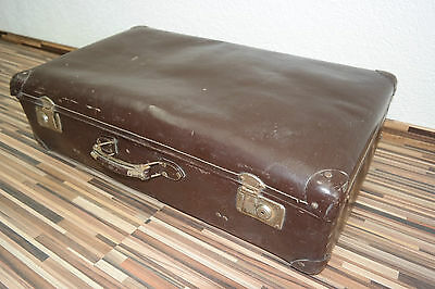 Old Suitcase,Travel cases 1950s Years,Iconic,Retro Design,Vulcanized fiber,DECOR