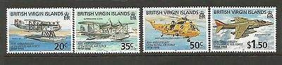 British Virgin Islands 1998 Royal Air Force MNH