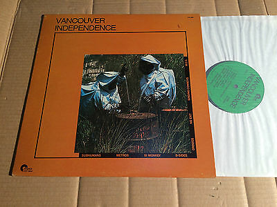 V/A - VANCOUVER INDEPENDENCE - SUBHUMANS / METROS / SI MONKEY / DROOGS u.a. - LP