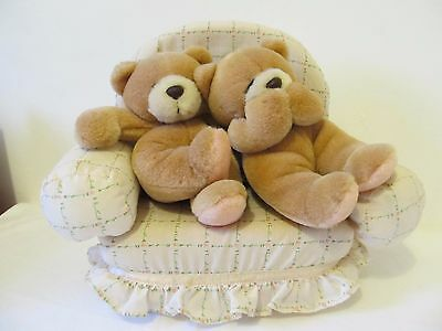Forever Friends Teddies on Sofa Plush Toy