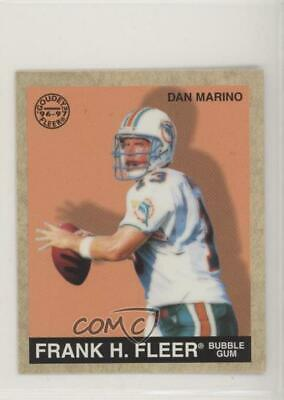 1997 Fleer Goudey #41 Dan Marino Miami Dolphins Football Card