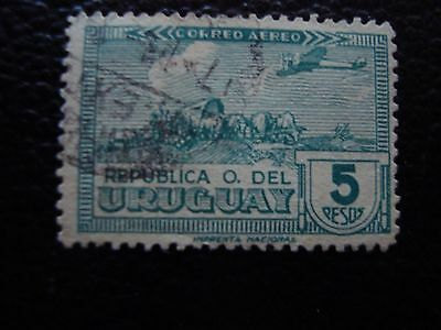 URUGUAY - timbre yvert et tellier aerien n° 100 obl (A27) stamp