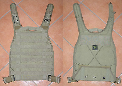 Eagle rrv chest rig ind pouch mbss back plate MLCS SFLCS mjk khaki OLD GEN