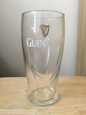 Authentic Guinness Pint Glass