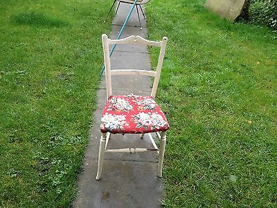 antique chair White