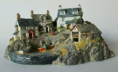 Fishermans Cove by Jane Hart Danbury Mint Our Scenic Shores Collection
