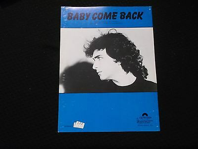 Baby Come Back (1983) Billy Rankin #5019*