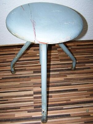 Old Swivel Stool Workshop Stools, Designer Stool, Wood Vintage Bar Stool, Chair