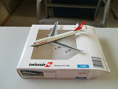Herpa Wings    523356   Swissair  747-300  Limited Edition