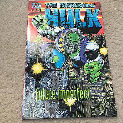 Incredible Hulk:future Imperfect #2 Signed By Peter David