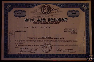 Lot 50 X WTC Air Freight 100 shares