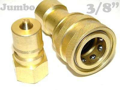 "Carpet Cleaning 3/8"" Brass Quick Disconnect - application, hoses wands"