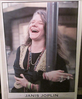 Janis Joplin Poster Live New Never Opened Late 2000's Vintage London 69