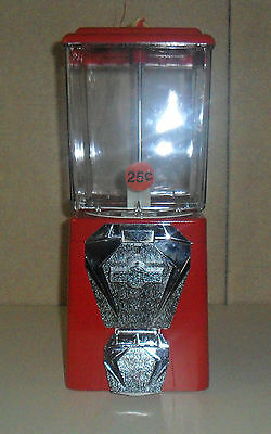 New Metal 25 Cent Candy Vending Machine Ready To Use Great Gift