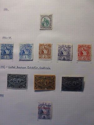 Guatemala.A Small Selection of Stamps 1881-1929.Mint & Used.