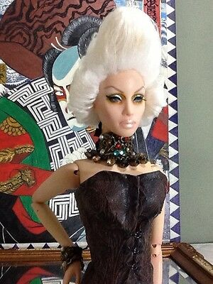 OOAK CUSTOM MADE Pompadour WIG FOR Sybarite Ficon