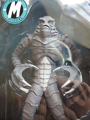 "Mezco 10"" EXCLUSIVE of 100 B&W Creature from the Black Lagoon Collectible Figure"