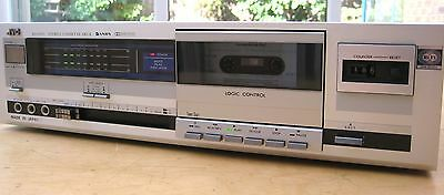 Jvc Kd-D20B Dolby B And Anrs Noise Reduction Cassette Deck Made In Japan Vg 1982