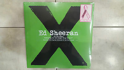 "Ed Sheeran ""X"" Sealed Pink Vinyl"