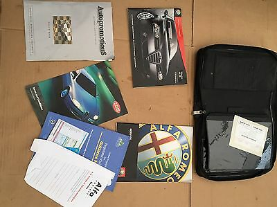 Alfa Romeo 147 Service Book With Service History And Wallet