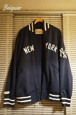 Mitchell & Ness Baseball Jacket Authentic BP New York Yankees 1977
