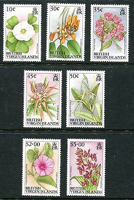 British Virgin Islands 1995 Flowers with imprint date 1995 MNH