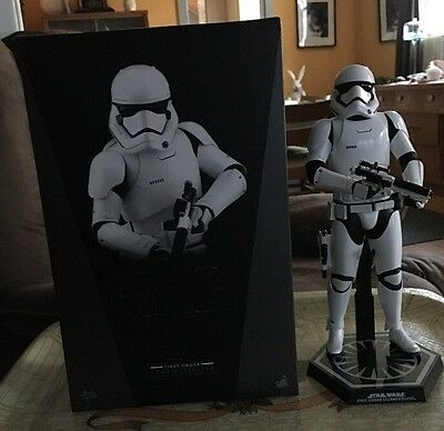 Hot Toys Star Wars Force Awakens First Order Stormtrooper Figure 1/6 In Mailer