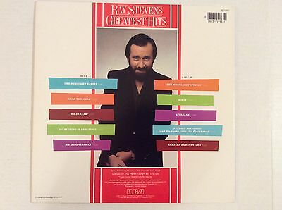 Ray Stevens GREAST HITS Pop vinyl LP MINT! 1983 The Streak Misty Gitarzan, ect.