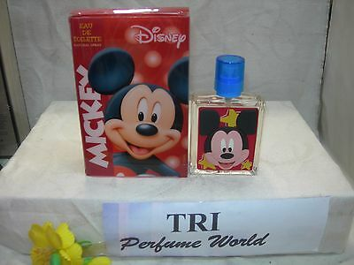DISNEY MICKEY Kid's Eau de Toilette EDT Spray 1.7 fl.oz.