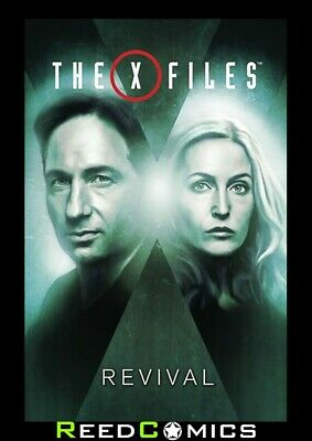 X-FILES 2016 VOLUME 1 REVIVAL GRAPHIC NOVEL New Paperback Collects (2016) #1-5